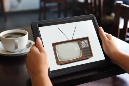Aereo allows users to connect to a distant antenna — a tiny device that acts like an old set of rabbit ears — and watch broadcast TV channels on their computer, tablet or smartphone. Currently the service is available only in New York City, and it's embroiled in legal complicati