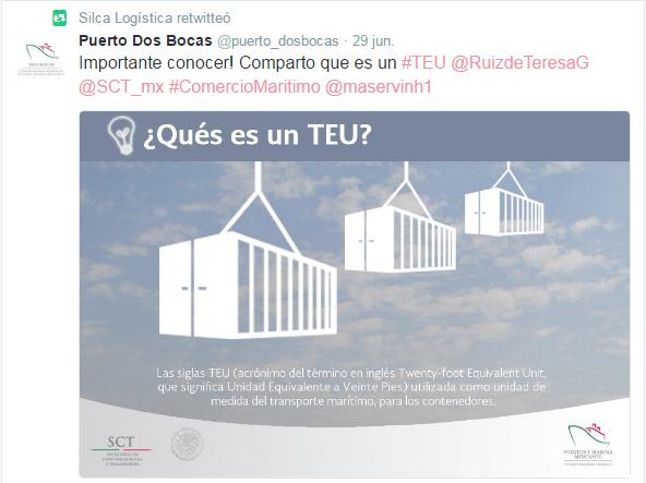 SILCA Logistica Tweet