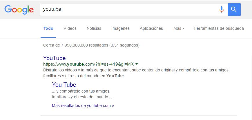 búsquedas específicas