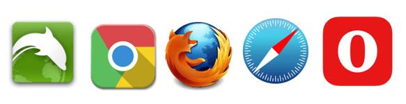 navegadores para dispositivos móviles