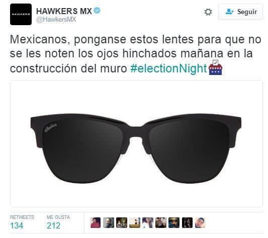 Hawkers Tweet