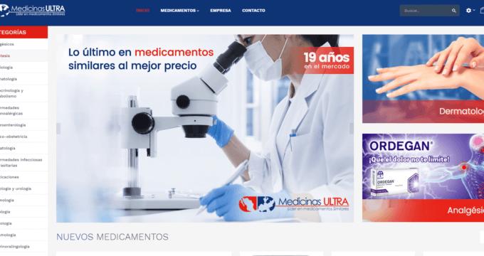 medicinas ultra page