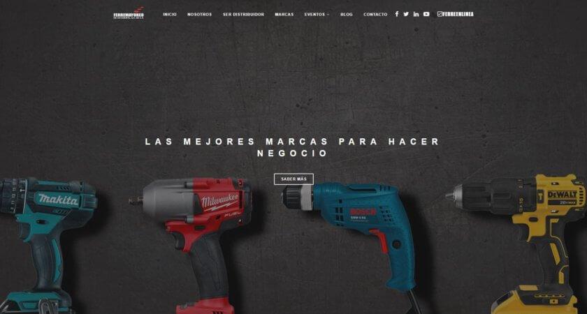 Diseñamos el sitio Web de Ferremayoreo