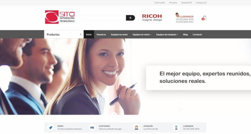 Creamos la tienda en línea de SITCI