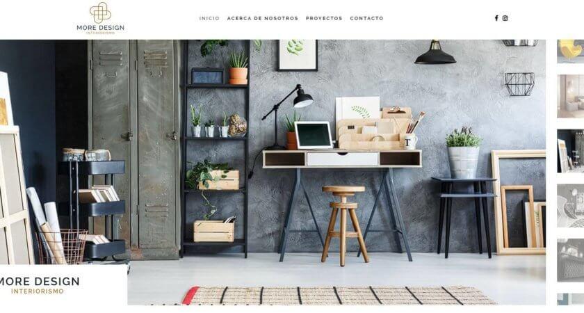 Creamos el sitio Web de More Design