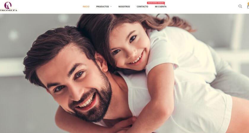 Creamos la tienda en línea de Promepa