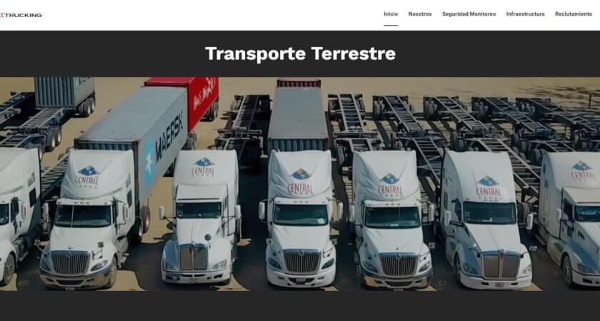 Creamos el sitio de CC Trucking