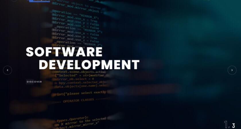 Creamos un sitio Web para SoftDev