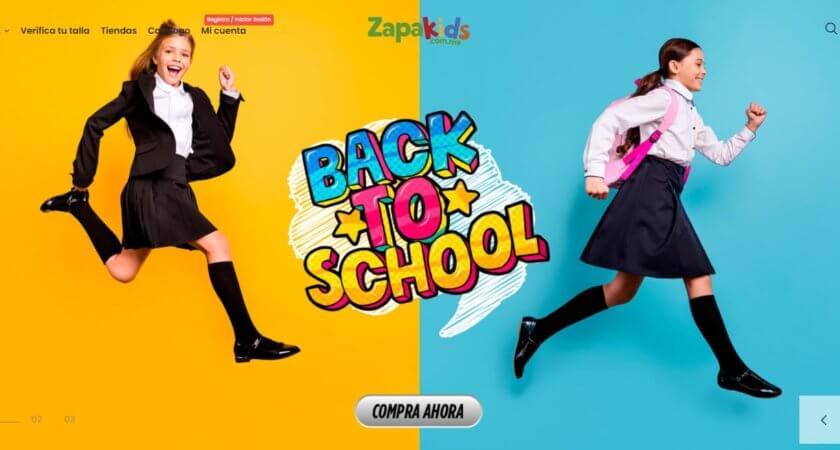 Creamos la tienda en línea de Zapakids