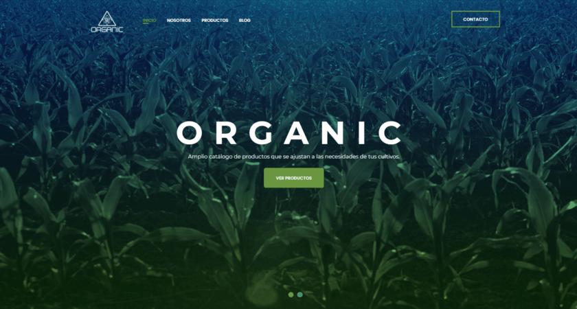 Creamos el sitio Web de ORGANIC S.A. de C.V.