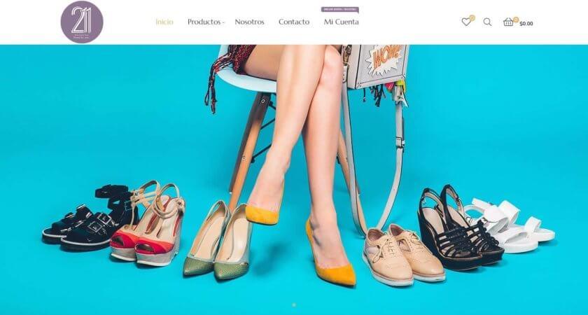 Creamos una tienda en línea administrable para 211 Shoes