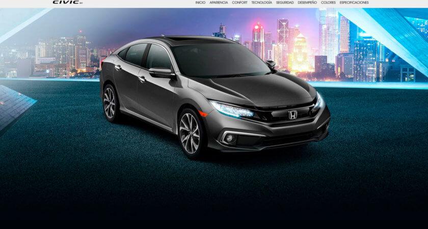 Renovamos el sitio de Autos Honda de México